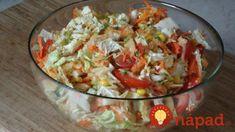 Best salad you can imagine! New Recipes, Cooking Recipes, Healthy Recipes, Prosciutto, Salad Dressing, Guacamole, Vegan Vegetarian, Potato Salad, Cabbage