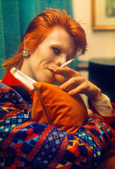 On the road with David Bowie, Mick Rock captures the icon's transformation into Ziggy Stardust Bowie Ziggy Stardust, David Bowie Ziggy, David Bowie Smoking, Lady Stardust, David Bowie Starman, David Bowie Hunky Dory, David Bowie Young, David Bowie Art, Major Tom