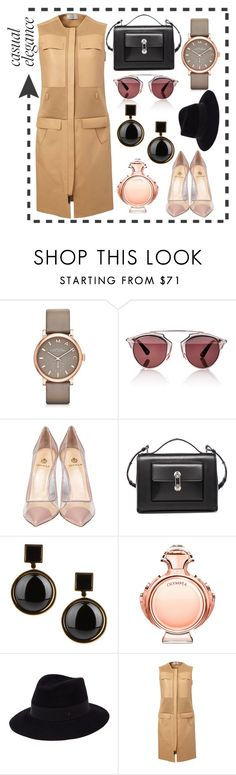 """""""Casual"""" by olecika-777 ❤ liked on Polyvore featuring Marc by Marc Jacobs, Christian Dior, Semilla, Balenciaga, Paco Rabanne, Maison Michel, Maison Ullens, women's clothing, women and female"""