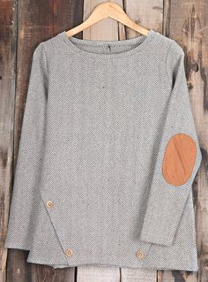 Have this suede classic-$29.99 only with free shipping&easy return! It is detailed with button ornamented&soft fabric! Let love into your life with this gorgeous herringbone woolen top!