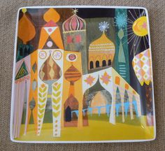 Mary Blair plate