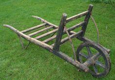 Traditional-Vintage-Wheelbarrow-Hungarian-Sack-Barrow-Truck-Cart-Wheel-Barrow