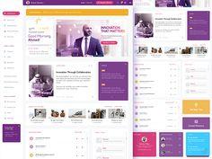 Enterprise Intranet Portal by Hannah Milan on Dribbble Web Design Career, Web Design Trends, Design Web, Intranet Portal, Enterprise Portal, Intranet Design, Portal Design, Dashboard Ui, Ui Web