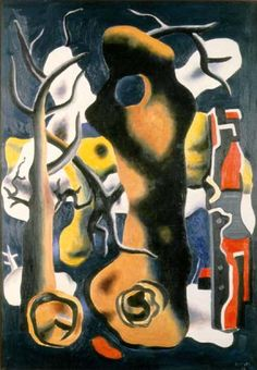 Landscape (1936) by Fernand Léger