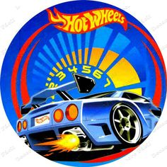 Hot Wheels Party, Festa Hot Wheels, Hot Wheels Birthday, Happy Birthday Baby, 8th Birthday, Birthday Parties, Wheel Logo, Race Party, Ferrari