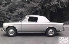 Rover 3 Litre Drophead Coupe by Henri Chapron. (Convertible)