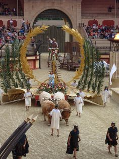 puy du fou (fr) Voyage Rome, Triomphe, Spectacle, Coups, Attraction, Dolores Park, Europe, Camping, Events