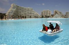 World's Largest Pool - San Alfonso del Mar in Chile