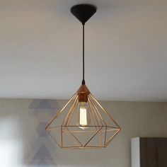 Suspension contemporain fornes m tal ch ne 4 x 6 w eglo leroy merlin deco - Suspension new york leroy merlin ...