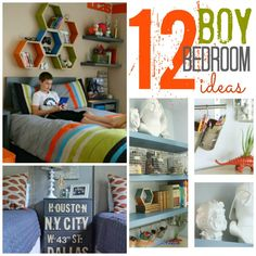 Amazing Ideas for Boy Bedrooms!