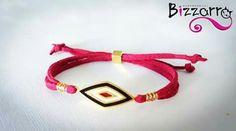 Bizzarro Boho Rhomb Bracelet Boho, Personalized Items, Crystals, Bohemian, Crystal, Crystals Minerals