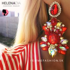 Handmade náušnice HelenaDia Selah #helenadia #handmade http://femmefashion.sk/helenadia/2946-nausnice-helenadia-selah.html
