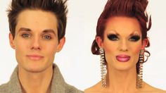 Ivy Winters Drag Queen | Amazing Before-and-After Drag Queen Transformation ...