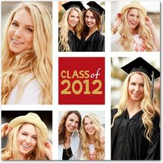 Graduation Announcement Idea - Scarlet