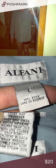 ALFANI Italian dress shirt ALFANI designer shirt Incredible soft silky interior  And smooth and soft exterior Coral colored Alfani Shirts Dress Shirts