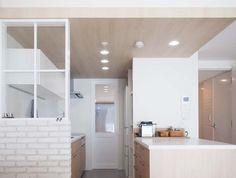キッチン、寝室、動線、ベッドルーム、マンションリノベーション、プラスエム・アーキテクツ
