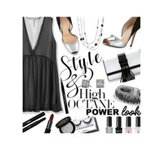 """""""My Power Look.. Style & High Octane"""" by mia-christine ❤ liked on Polyvore featuring Eleccio, Victoria's Secret, Gianvito Rossi, Givenchy, David Yurman, Sonia Kashuk, Yves Saint Laurent, Gucci, NARS Cosmetics and Champion"""