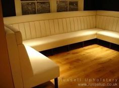 Image result for restaurant booth seat construction