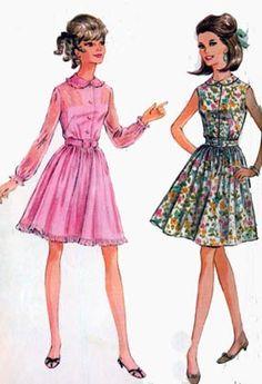 Vintage 1960's Pattern McCalls.