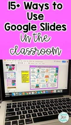 How to Use Google Slides in the Classroom | 15+ great ways to use google slides for things like collaborating, writing, ELA and math morning work, writing prompts and more.  Create Dream Explore