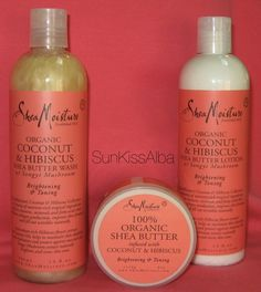 """My Top """"Shea Moisture"""" Products"""