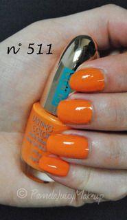 Swatch n° 511 Curaçao Mandarin