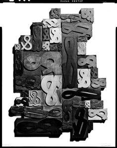Ampersand letterpresses