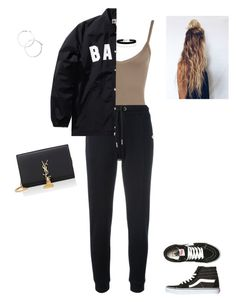 """""""Untitled #367"""" by kristian321 ❤ liked on Polyvore featuring WearAll, Zoe Karssen, A BATHING APE, Miss Selfridge, Vans and Yves Saint Laurent"""