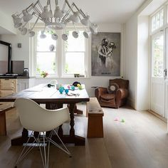 Dining area | Fun East Sussex home | House tour | PHOTO GALLERY | Livingetc | Housetohome.co.uk