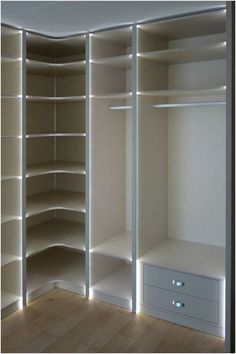 Spectacular Wardrobe Designs Ideas To Store Your Clothes In ~ kliksaya.me Spectacular Wardrobe Designs Ideas To Store Your Clothes In ~ kliksaya. Corner Wardrobe, Wardrobe Design Bedroom, Master Bedroom Closet, Bedroom Wardrobe, Ikea Closet Design, Walk In Closet Design, Closet Designs, Dressing Room Closet, Dressing Room Design