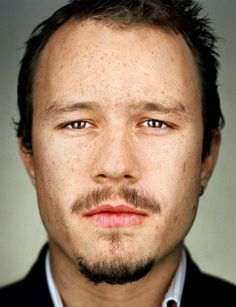 Martin Schoeller - Heath Ledger Portrait