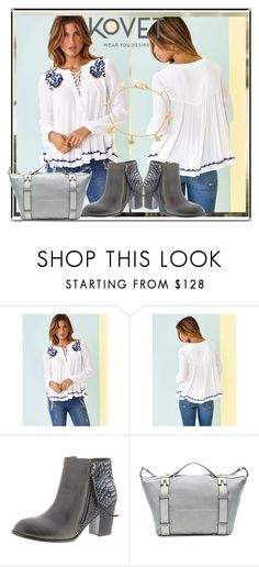 """""""SHOP - KOVET"""" by ladymargaret ❤ liked on Polyvore featuring Gorjana, women's clothing, women, female, woman, misses and juniors"""