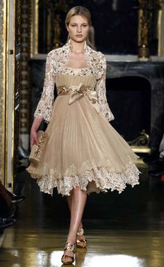 ZUHAIR MURAD~ I don't like the jacket as much but the dress is amazing!