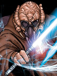 Zym - was a male Kel Dor Jedi Master who served the Galactic Republic as the Grand Master of the Jedi Order during the Great Galactic War.