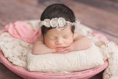 Baby Victoria   Westchase Newborn Portrait Session   Kelly Kristine Photography