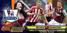 Prediksi Hull City vs Everton, Prediksi Bola Burnley vs Sunderland, Burnley vs Sunderland akan bertemu di partai lanjutan Liga Primer Inggris yang rencananya akan digelar pada hari Sabtu, 31 Desember 2016 Pukul 22:00 WIB dan disiarkan secara live dari Turf Moor, Burnley.