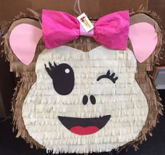 Birthday Pinata, Monkey Birthday, Birthday Party Themes, 2nd Birthday, How To Make Pinata, Unicorn Pinata, Monkey Girl, Bday Girl, Costumes
