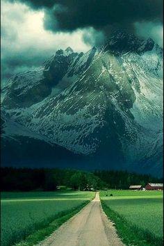 Los Alpes, Francia.