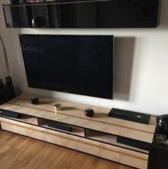 Sycamore U0026 Oak AV Unit · Media FurnitureCabinet