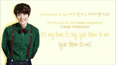 EXO - My Turn to Cry (Korean Version) (Color Coded Hangul/Rom/Eng Lyrics) SUCH A CUTE SONG! TT^TT