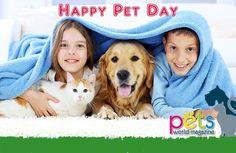 Hoy en EEUU 🇺🇸 se celebra el National Pet Day.  Una excusa para festejar a nuestros peluditos 👍🏽 que nos brindan tanto amor 😍  #PetsWorldMagazine #RevistaDeMascotas #Panama #Mascotas #MascotasPanama #MascotasPty #PetsMagazine #MascotasAdorables #Pets #PetsLovers #DogOfTheDay #PicOfTheDay #Cute #SuperTiernos