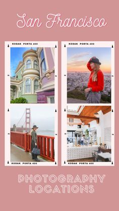 In this guide I've got over 45 San Francisco photography locations. Some of them are familiar iconic landmarks and others are hidden gems known by locals. California Camping, California Vacation, Visit California, San Francisco Travel Guide, San Francisco Vacation, San Francisco Photography, Amazing Photography, Urban Photography, United States Travel