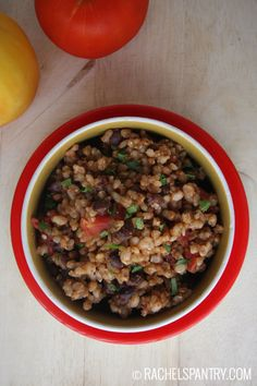 Mexican black beans and brown rice recipe