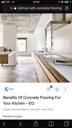 Concrete Floors, Alcove, Bathtub, Flooring, Bathroom, Kitchen, Standing Bath, Washroom, Bathtubs