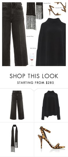 """""""Untitled #3432"""" by amberelb ❤ liked on Polyvore featuring Alexander Wang and Sally Lapointe"""