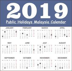 10 Best 2019 Holiday Calendar Images