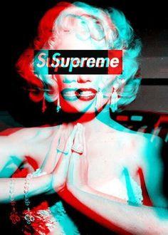 #marilyn#monroe#supreme#art
