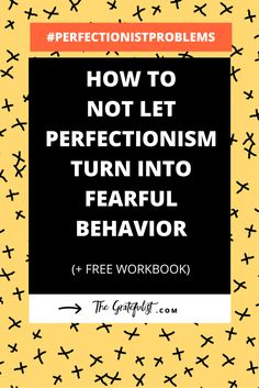 How not to let perfectionism turn into fearful behavior -We're back with the ninth instalment of the #perfectionistproblems series for soul-connected yet stressed-out creatives. This week we're exploring the link between perfectionism and fear, where we focus on the fear that results from perfectionism.Click through to read the entire blog post. Plus, there's a FREE workbook!