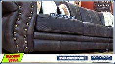 Tisha Corner Suite Corner Couch, Lounge Suites, Mattress, Hardwood, Living Room, Furniture, Home Decor, Corner Sofa, Natural Wood