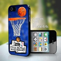 10735 I Love This Game NBA design for iPhone 4 or 4s case